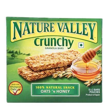 NATURE VALLEY OATS & HONEY 252G