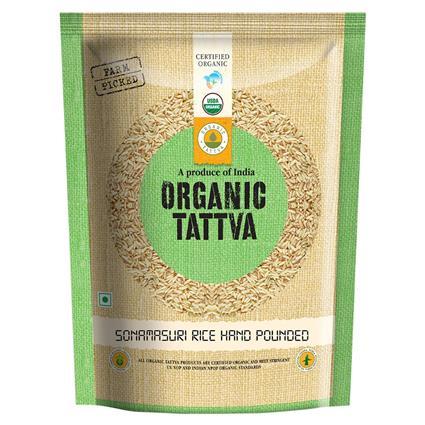 Sonamasuri Rice Hndpond Organic - Organic Tattva