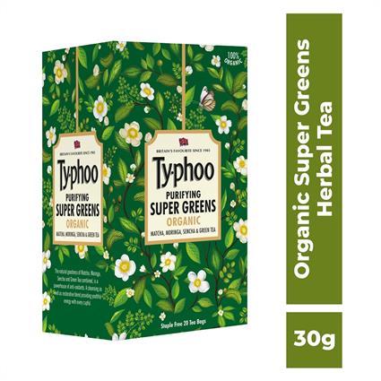 Typhoo Purifying Supergreen Organic