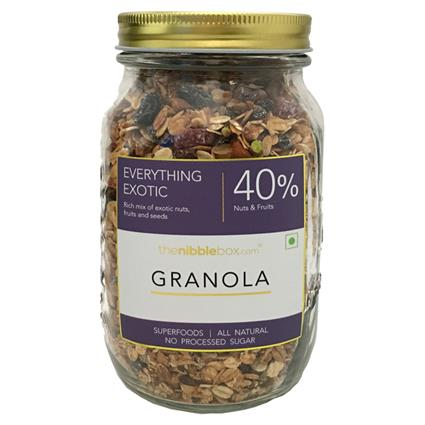 Everything Exotic Breakfast Granola - Thenibblebox