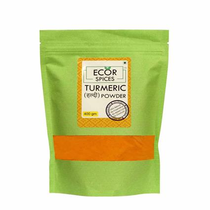 ECOR SPICES TURMERIC POWDER 400GM
