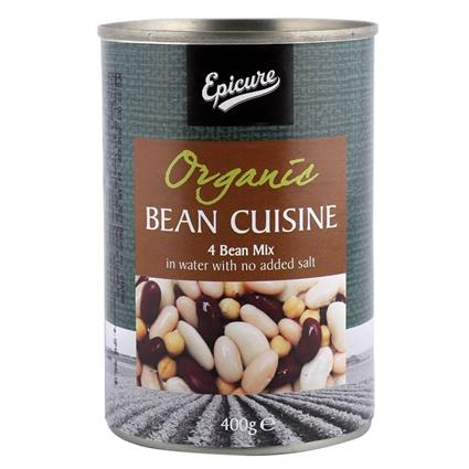 EPICURE FOUR BEAN MIX 400G