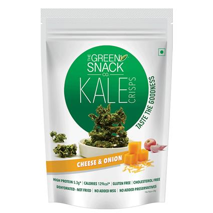 GSC KALE CHIPS CHEESE & ONION 30G