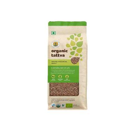 Masoor Dal Whole Organic - Organic Tattva
