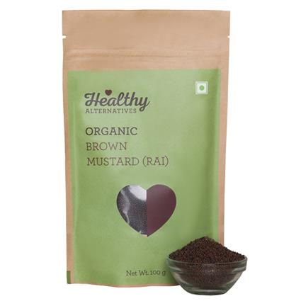 HA MUSTARD BROWN 100G