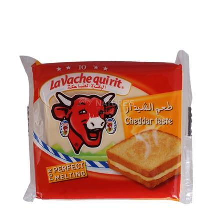 Cheddar Cheese  -  Pack Of 10 Slices - Lavache Quirit