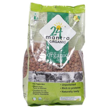 Brown Chana - 24 Mantra Organic