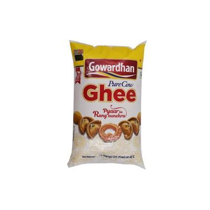 GOWARDHAN COW GHEE POUCH 1Ltr