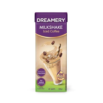DREAMERY MILKSHAKE ICED COFFEE 180ML TET /P