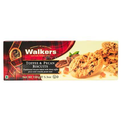 Toffee & Pecan Biscuits - Walkers