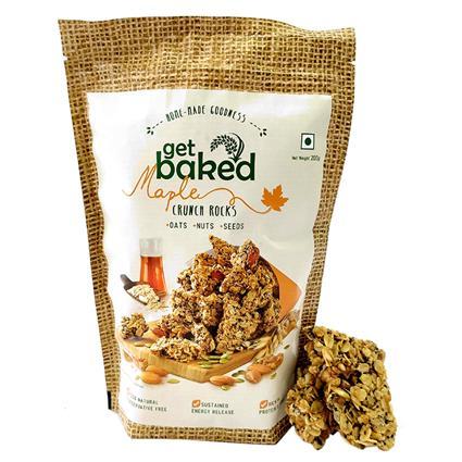 Crunch Rocks Maple Oat Clusters - Get Baked