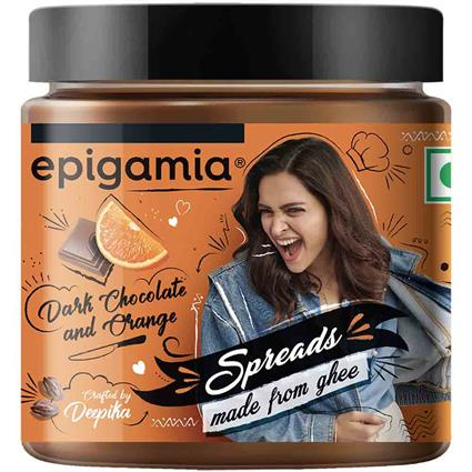 EPIGAMIA DP CHOCO ORANGE GHEE SPRD 125G