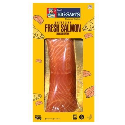 BIG SAMS NORWEGIAN FRESH SALMON 150G