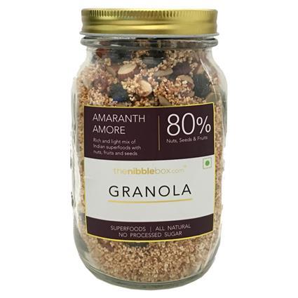 Amaranth Amore Breakfast Granola - Thenibblebox