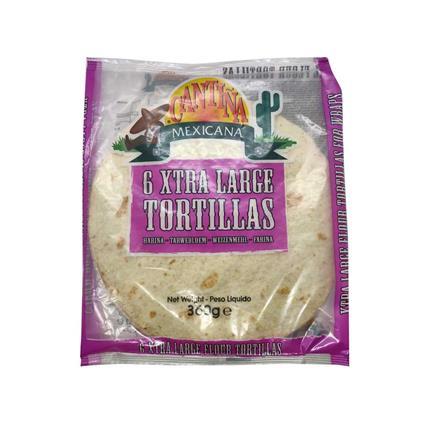 Flour Tortillas 10 XL - Cantina