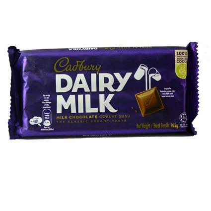 CADBURY DAIRY MILK CHOCOLATE 165G