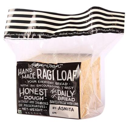 Ragi Half Loaf Bread - The Baker's Dozen