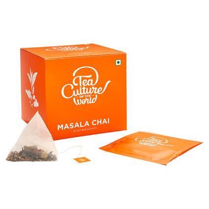 TCW MASALA CHAI 20 TEA BAGS 40G BX