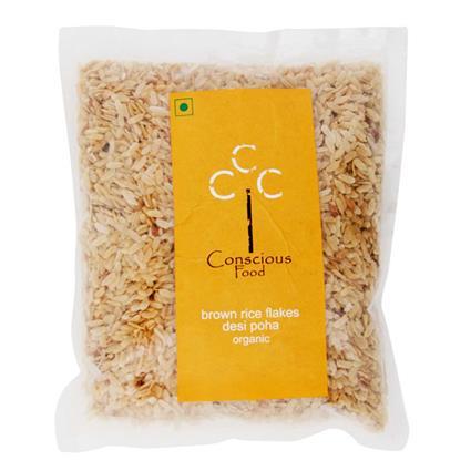 Poha - Organic Brown Rice Flakes - Conscious Food