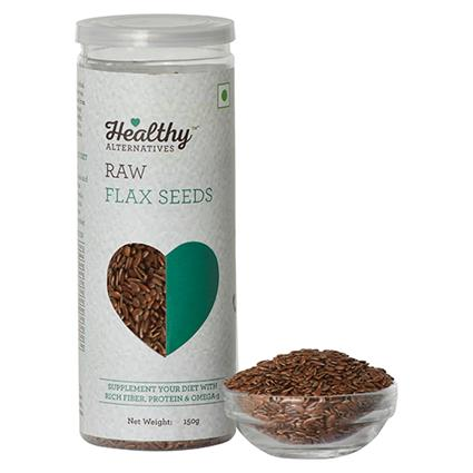 Raw Flax Seeds - Healthy Alternatives