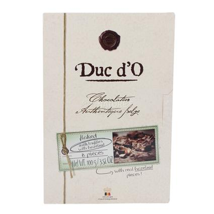 Milk Truffles W/ Hazelnuts - Duc Do