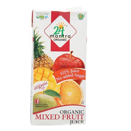 Mixed Fruit Juice - 24 Mantra Organic