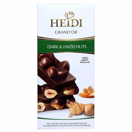Grandor  -  Dark Chocolate W/ Caramelized Hazelnuts - Heidi