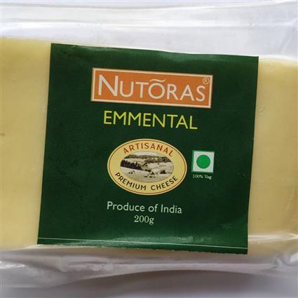 NUTORAS CHEESE EMMENTAL BLOCK 200GM