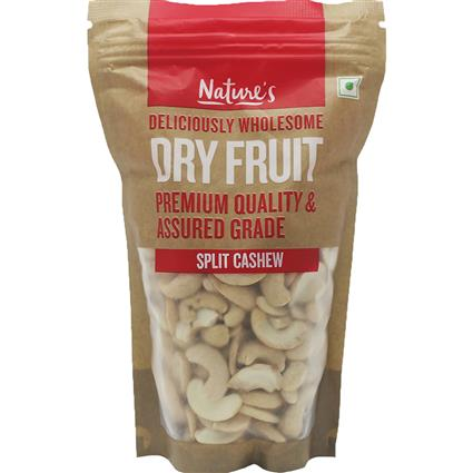 NATURES CASHEW SPLIT 200G