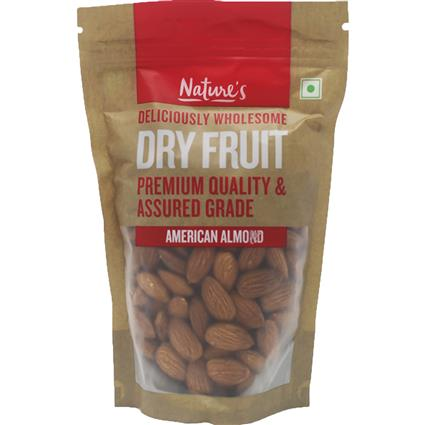 NATURES ALMOND AMERICAN 250G