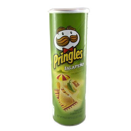 PRINGLES JALAPENO 158G