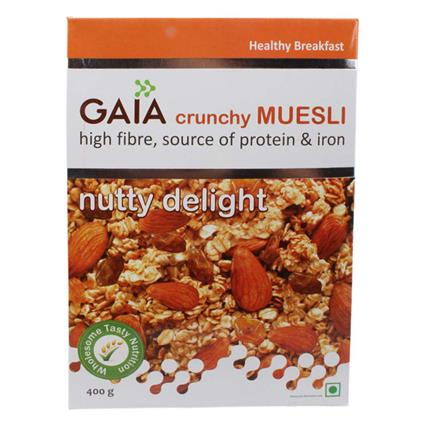 Crunchy Muesli  -  Nutty Delight - Gaia