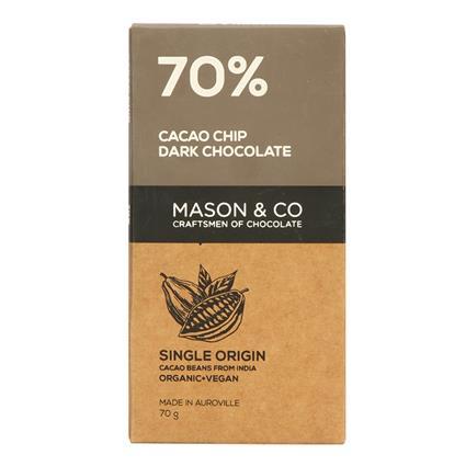 MASON N CO 70 PERC CACAOCHIP CHOCLT 60G