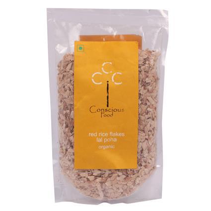Red Rice Poha  -  Organic - Conscious Food