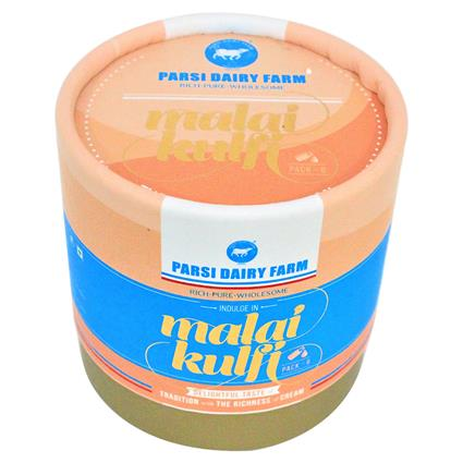 Malai Kulfi  -  Pack Of 6 - Parsi Dairy Farm