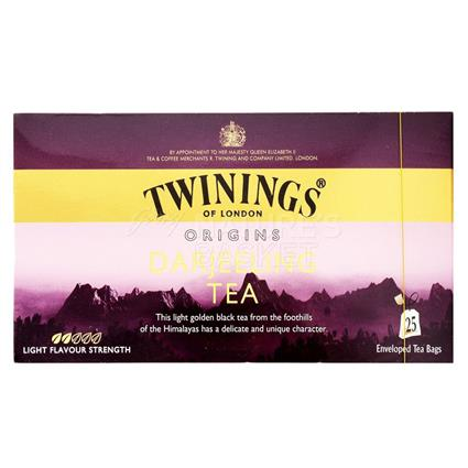 Darjeeling Tea  -  25 TB - Twinings