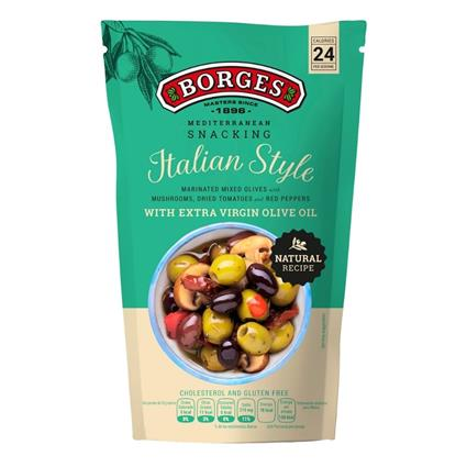 BORGES SNACKING OLIVE ITALIAN STYLE 260G