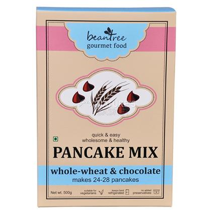 Beantree Whole-Wheat & Chocolate Pancake Mix - Beantree