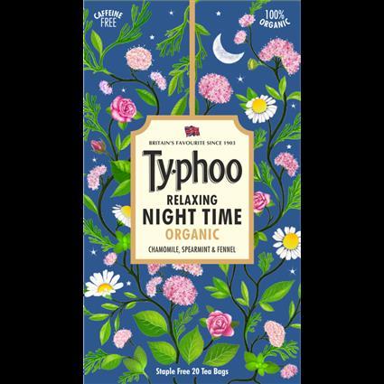 TY-PHOO NIGHT TIME 20S TEA BAG BOX