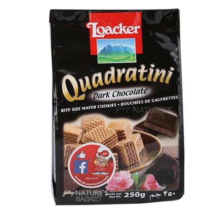 LOACKER DARK CHOCOLATE WAFER 250G