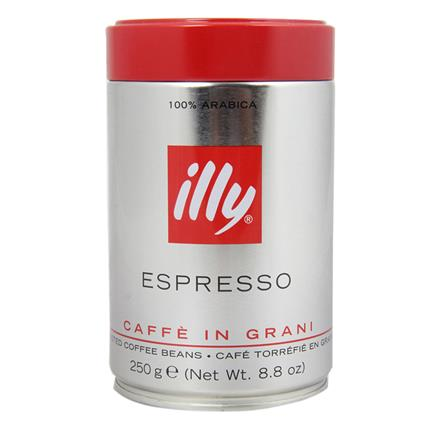 ILLY COFFEE BEANS TIN 250GM
