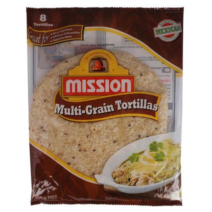 MISSION MULTIGRAIN TORTILLA 8INCHES 384G
