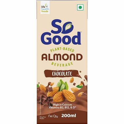 So Good Almond Milk Chocolate Flavour 200 Ml