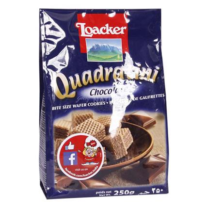 Quadratini Bite Size Wafers Cookies - Loacker