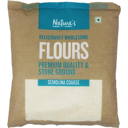 NATURES SEMOLINA COARSE  500G