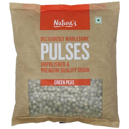 NATURES PEAS GREEN 500G