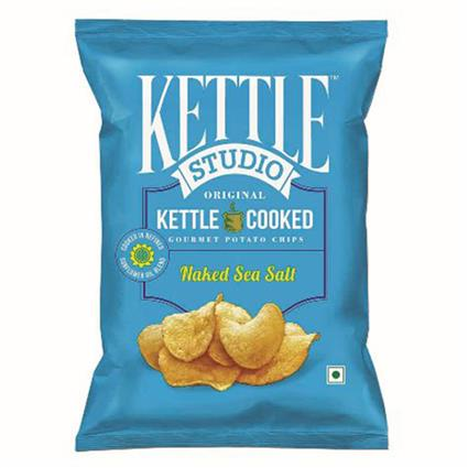 Naked Sea Salt Chips - Kettle Studio