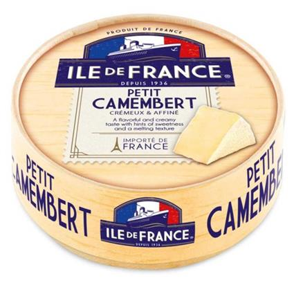 Ile de France Petit Camembert 125g