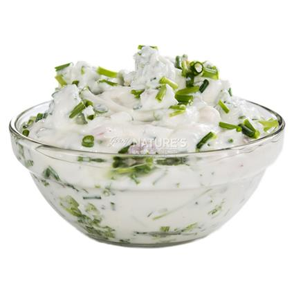 Spring Onion Yogurt Dip - Subedi