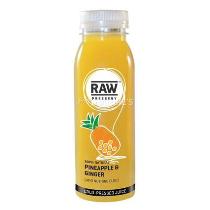 Cold Pressed Juice Pineapple & Ginger - Raw Pressery